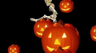 Falling Skeleton
