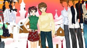 Dress Up Sweet Couple
