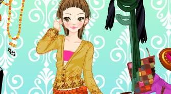 Asian Gal Dressup