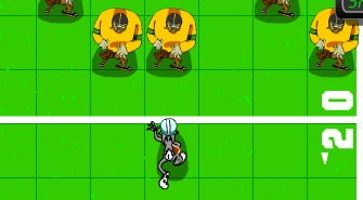 Daffy Duck's Wide Receiver Game - Play online at Y8.com