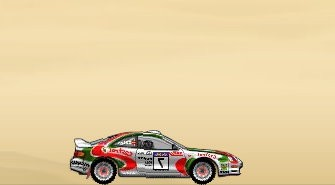 Desert Rally Game