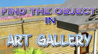 Find the Objects Art Gallery