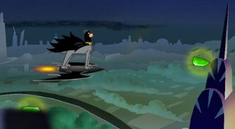 Flying Batdog