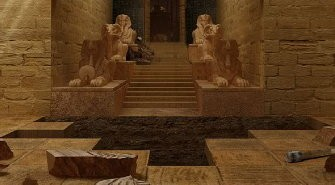 Pharaoh's Tomb Escape Game